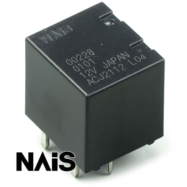 (Pkg 10) ACJ2112 Miniature Automotive Twin Relay