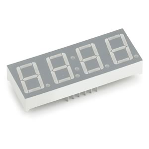(Pkg of 4) Lite-On LTC5630P Clock Display