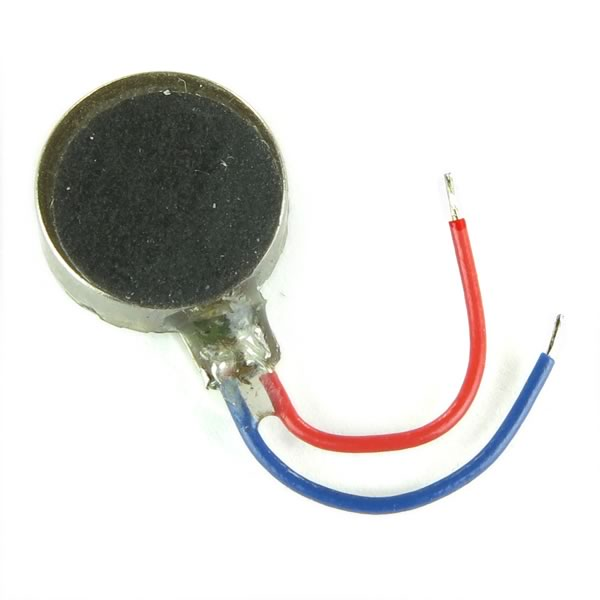 (Pkg 10) Tiny Coin Type Pager Vibrator Motor