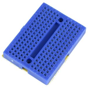Blue Mini Breadboard