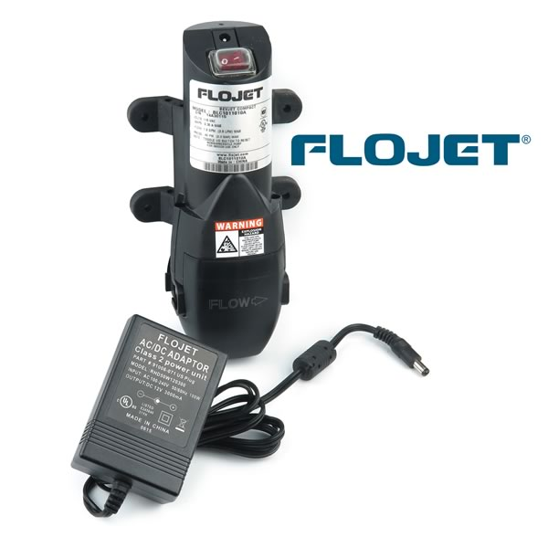 Flojet Bevjet Compact Pump with Adapter