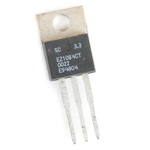 (Pkg 3) EZ1084CT-3.3T, 3.3V at 5A, LDO Voltage Regulator