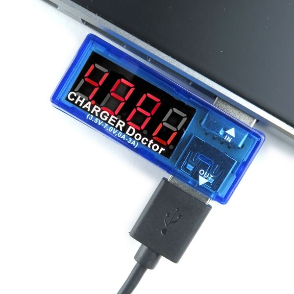 Charger Doctor USB Power Meter