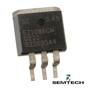 (Pkg 3) Semtech EZ1086CM 3.45V 1.5Amp Voltage Regulator