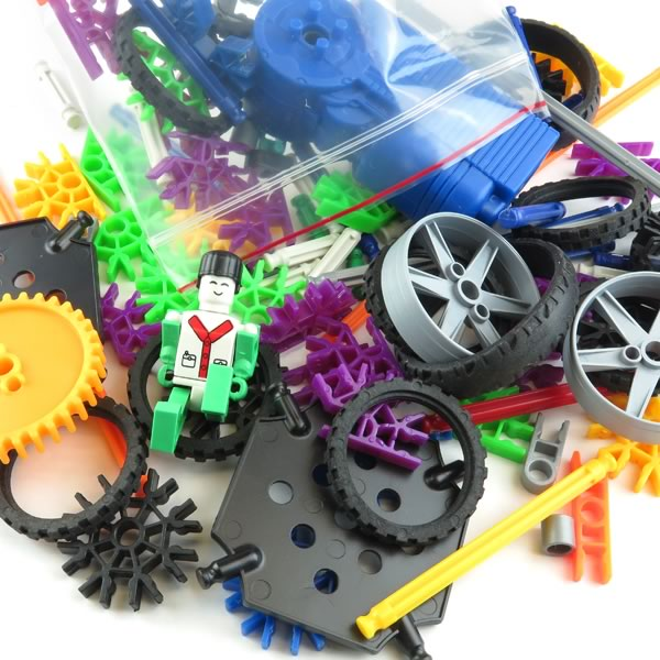 Fun Motorized Snap Together Toy Pieces