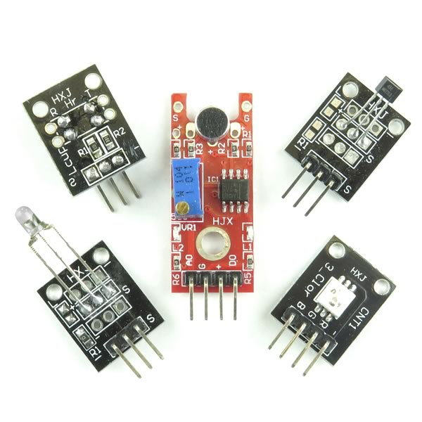 (Pkg 5) Sensor Assortment for Open Source Logic Boards