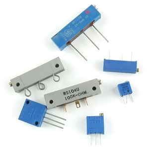 (Pkg 7) Super Multiturn Trimmer Resistor Assortment