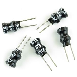 (Pkg 5) 470uH Miniature Inductor