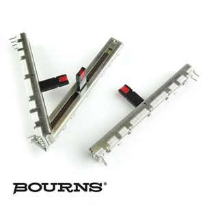 (Pkg 3) Bourns Linear Taper 1K Slide Pot with LED