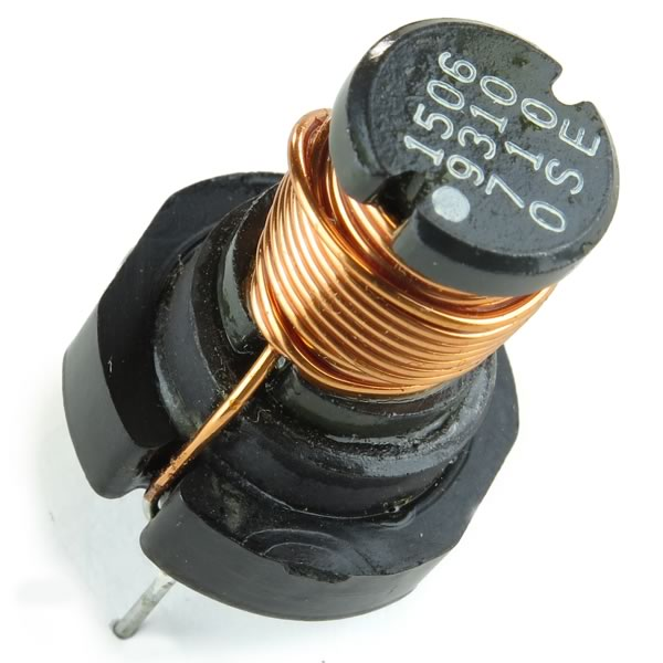 SALE - (Pkg 2) 50uH Inductor with Magnet