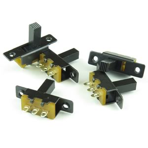 MEGA DEAL! (Pkg 10) High Quality Mini SPDT Slide Switch