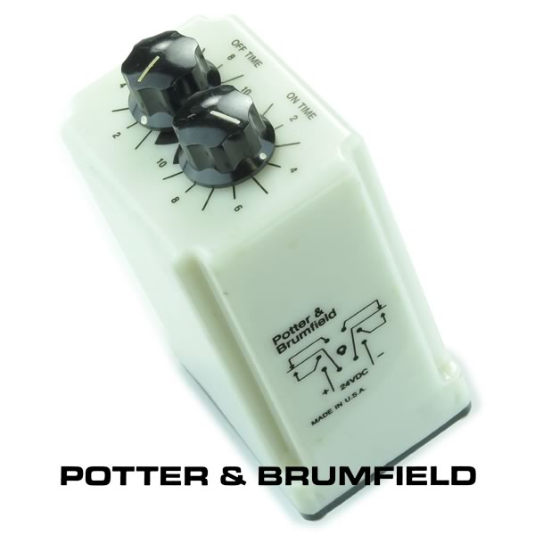 Potter & Brumfield CRD-48-30010 24VDC Recycle Time