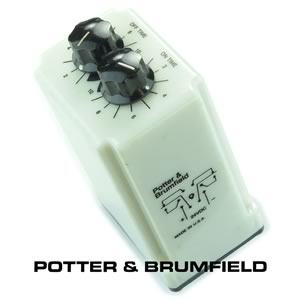 Potter & Brumfield CRD-48-30010 24VDC Recycle Time Delay Relay