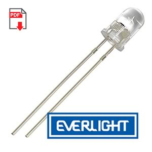 (Pkg 5) Everlight PT334-6C 5mm Phototransistor