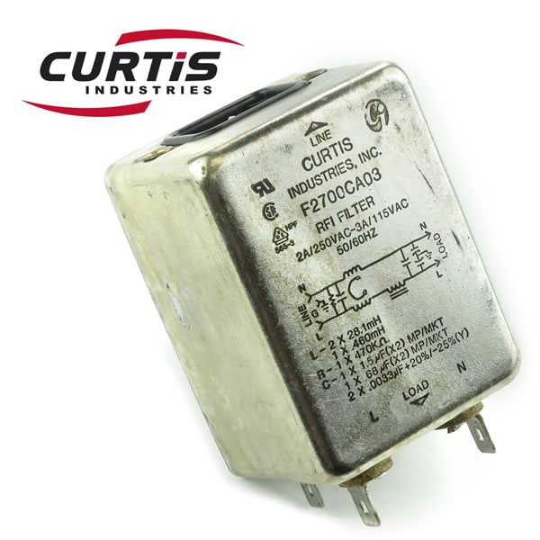CLEARANCE! Curtis RFI Filter F2700CA03
