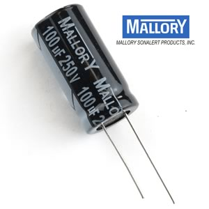 SALE! Mallory 100uF 250V Electrolytic Capacitor