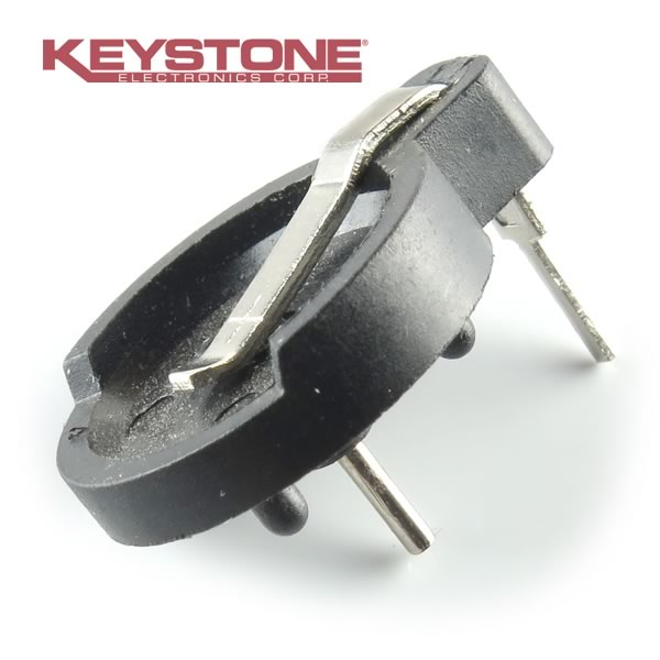 CLEARANCE! (Pkg 10) Keystone BH500 Coin Cell Battery Holder