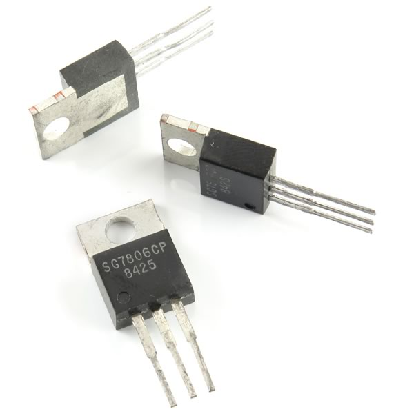 (Pkg 10) 7806 6VDC 1Amp Regulator