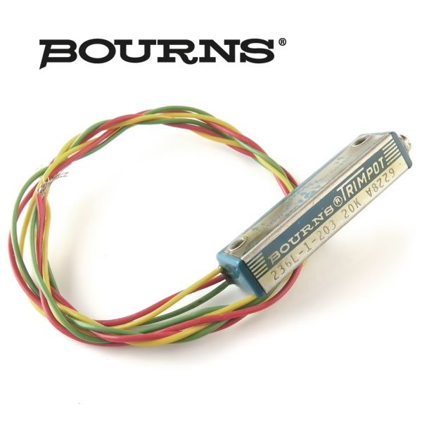 SALE! (Pkg 5) Bourns® Trimpot 20K 236L-1-203 Multi-Turn Trimmer