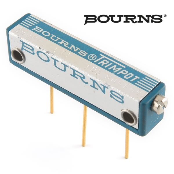 (Pkg 4) Bourns® 10K 25-Turn Trimpot