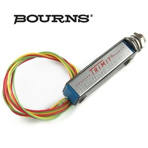 (Pkg 2) Bourns Panel Mounting 200Ω 25 Turn Trimit® Resistor