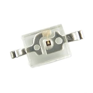(Pkg 100) Super Bright Tiny Yellow SMD LED Kingbright