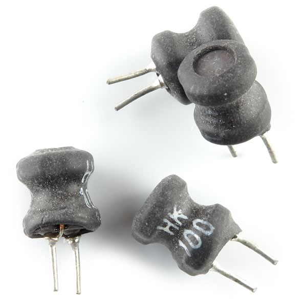 (Pkg 4) Tiny 10uH Radial Inductor