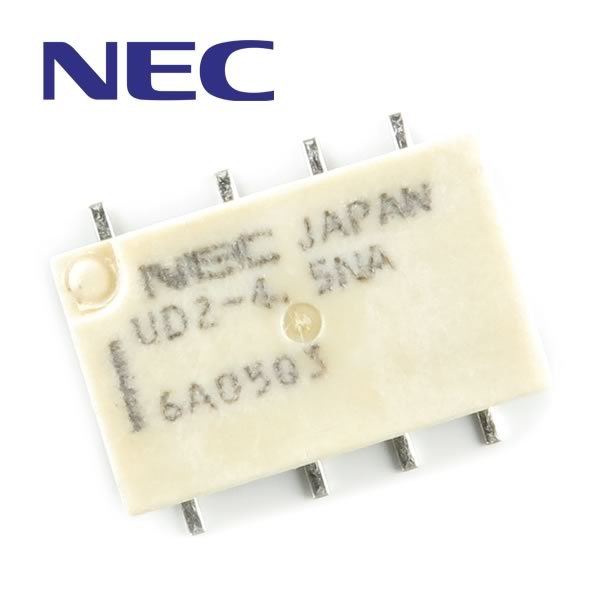 (Pkg 10) Subminiature Relay NEC UD2-4.5NA
