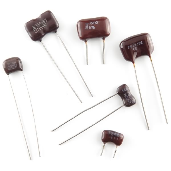 (Pkg 20) Silver Mica Capacitor Assortment