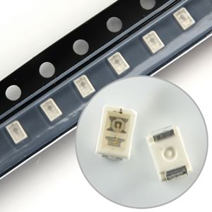 (Pkg 25) Osram Bright Blue SMD LED LB M673