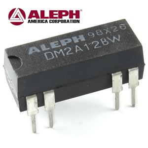 CLEARANCE! (Pkg 20) Aleph DM2A12BW 12VDC SPST Relay