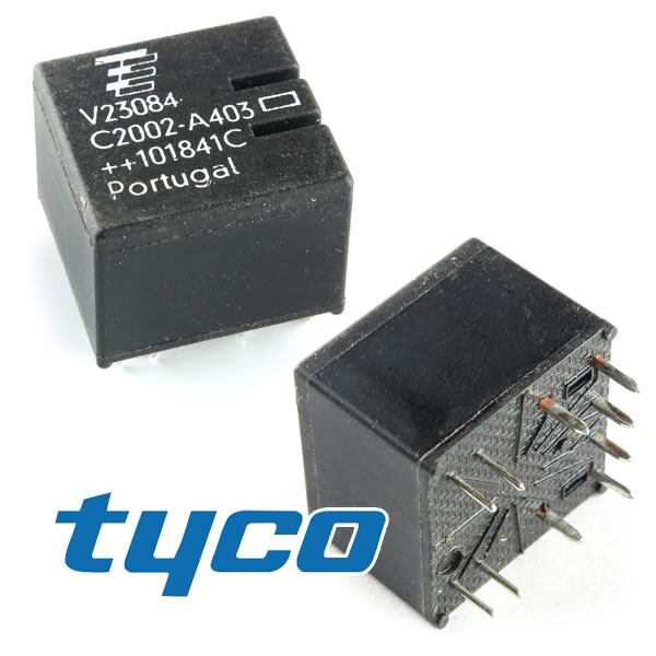 Nickel Metal Hydride Battery >> G21797 - TYCO Auto Relay V23084-C2002-A403