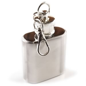 Mini 1oz Stainless Steel Keychain Mini Flask
