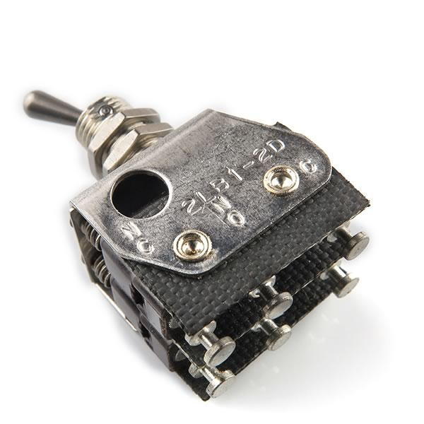 Unimax 2LB1-2D DPDT Miniature Toggle Switch