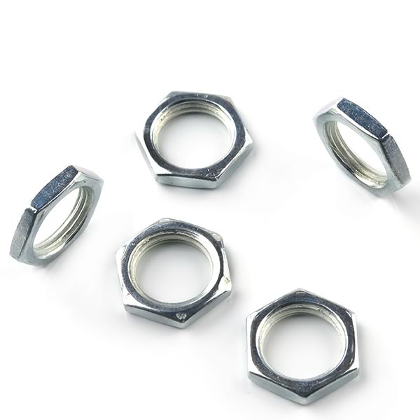 (Pkg 50) Pot Nuts 3/8 - 32 Hex Nut for Standard 3/8
