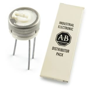 (Box of 10) A-B 10Ω Miniature Trimmer
