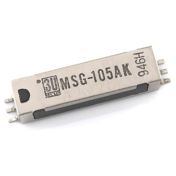 SALE - (Pkg 2) SANYU Tiny 5VDC SMD Reed Relay MSG-105AK