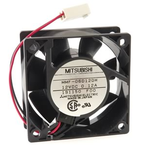 Mitsubishi Model 06D12DH 60mm 12VDC Fan