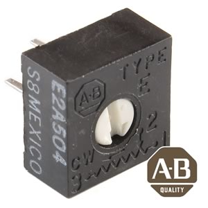 (Pkg 25) AB E2A504 Single Turn 500K Trimmer Resistor