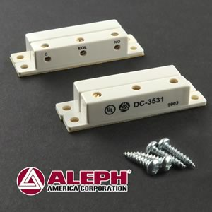 (Pkg 2) Aleph DC-3531 Surface Mount 3 Terminal Alarm Contact