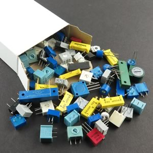 Super Box of Trimmer Resistors