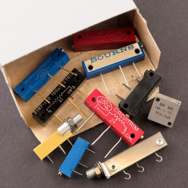 SALE - (Pkg 10) Amazing Value Box of MultiTurn Trimmers