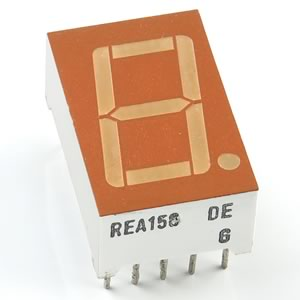 (Pkg 2) I.D.E.A REA156 / 7 Segment Red Display