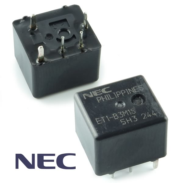 NEC Miniature 12VDC Heavy Duty Auto Relay ET1-B3M1S