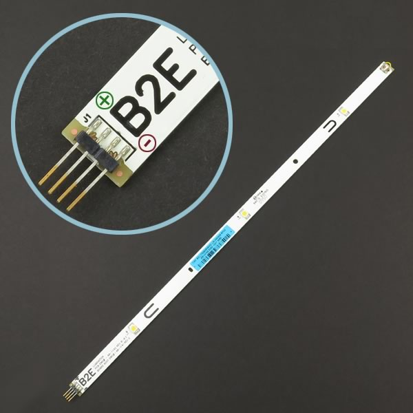 Our Brightest 12VDC 3 LED White Strip Light