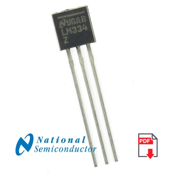 LM334Z 3-Terminal Adjustable Current Source (National)