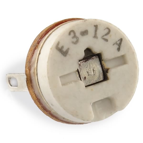 (Pkg 10) Erie 557 Series 3-12pF Ceramic Precise Adjust Variable Capacitor