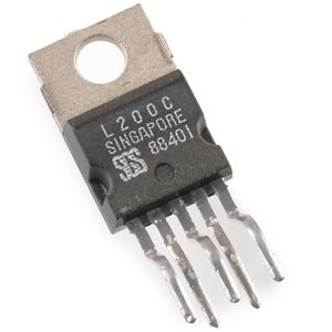 CLEARANCE! (Pkg 4) SGS L200C Positive Linear Voltage Regulator