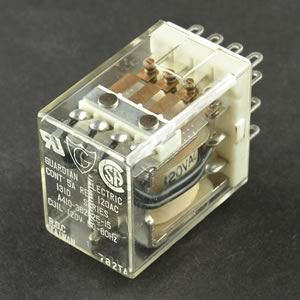 Guardian 120VAC 4PDT Relay 1310-4C-120A