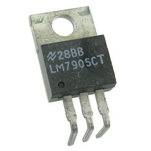 (Pkg 25) National LM7905CT Negative 5V Regulator